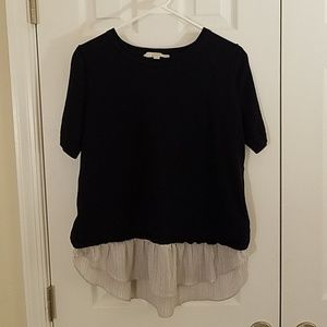 Loft layered blouse